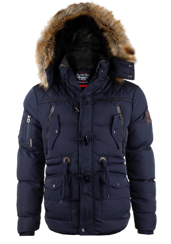 Details zu Cipo   Baxx Herren Winterjacke Parka CM107   SALE -50% 7cbc383878