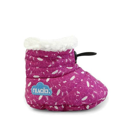 Baby Winter Slipper NUVOLA Baby Farm Fuchsia K