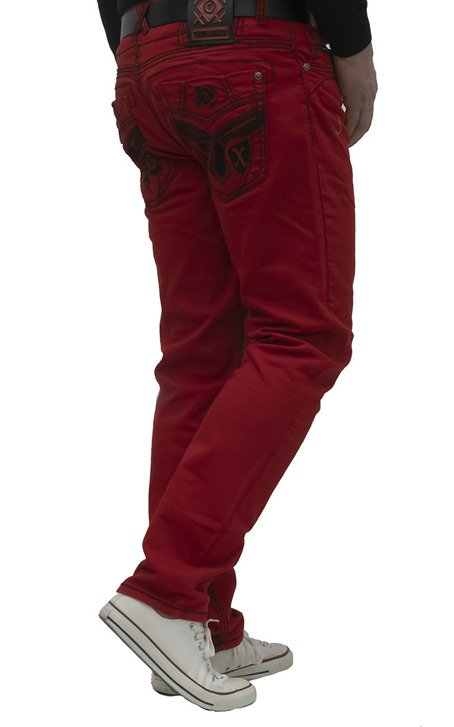 Herrenjeans CIPO BAXX CD599 RED