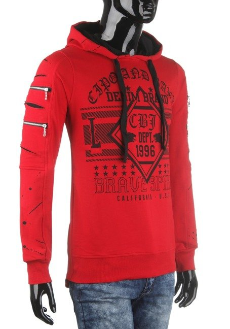 Sweatshirt CIPO BAXX CL237 RED