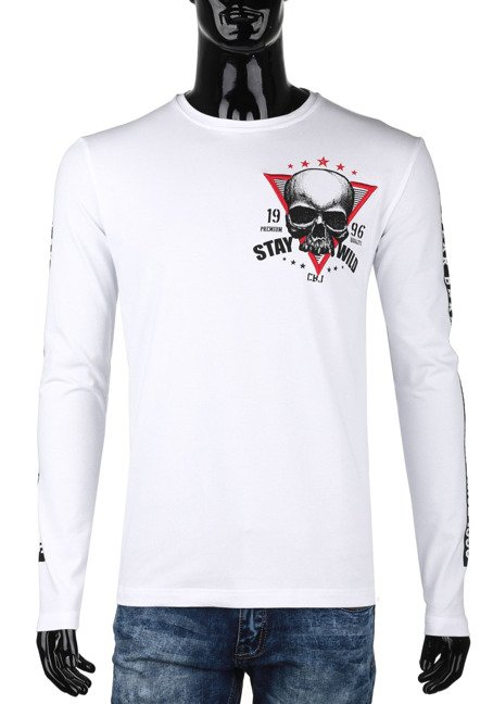 Sweatshirt CL316-WHITE CIPO BAXX