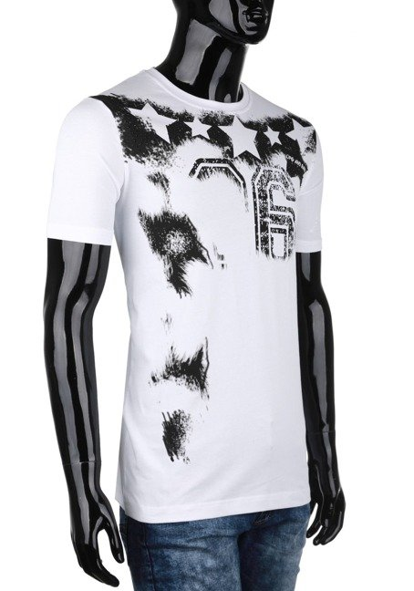 T-SHIRT CIPO BAXX CT374 WHITE