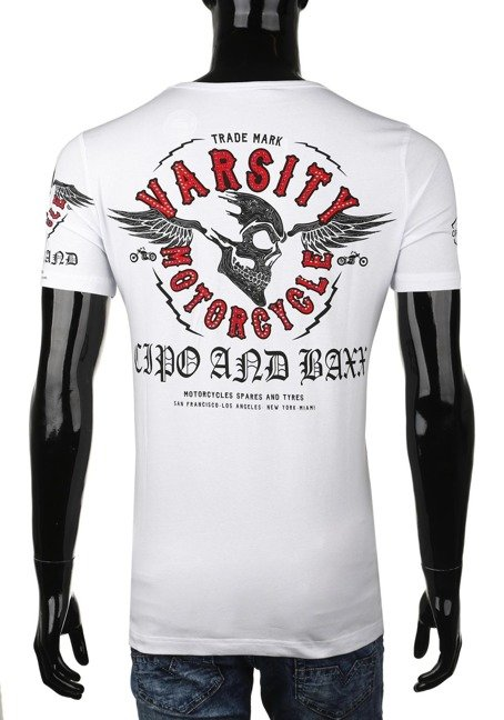 T-SHIRT CIPO BAXX CT375 WHITE