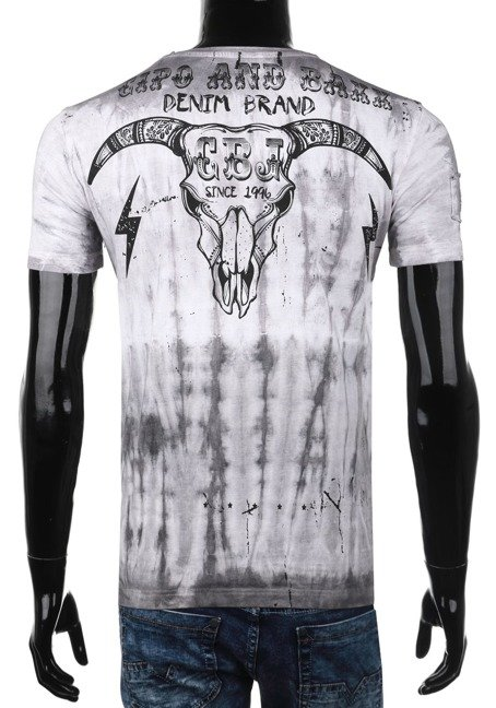 T-SHIRT CIPO BAXX CT404 GREY