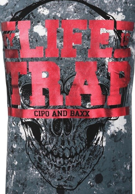 T-SHIRT CIPO BAXX CT410 GREY