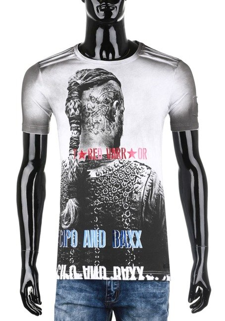 T-SHIRT CIPO BAXX CT412 WHITE