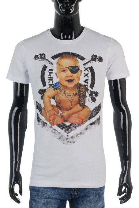 T-SHIRT CIPO BAXX CT485 WHITE