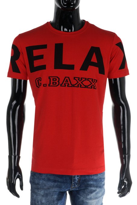 T-SHIRT CIPO BAXX CT493 RED
