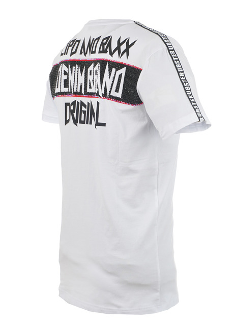 T-SHIRT CIPO BAXX CT501 WHITE
