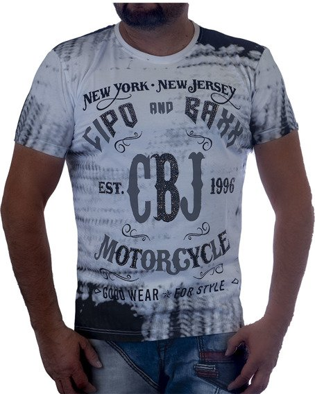 T-SHIRT CIPO BAXX CT537 WHITE