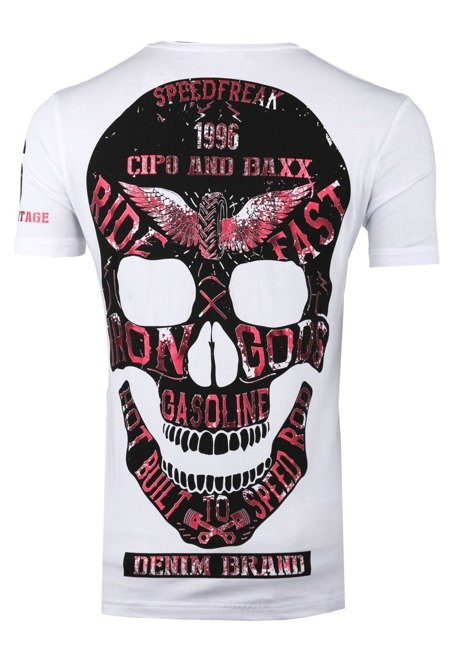T-SHIRT CT415-WHITE CIPO BAXX