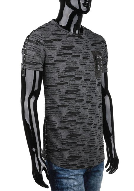 T-SHIRTCIPO BAXX CT420 ANTHRACITE