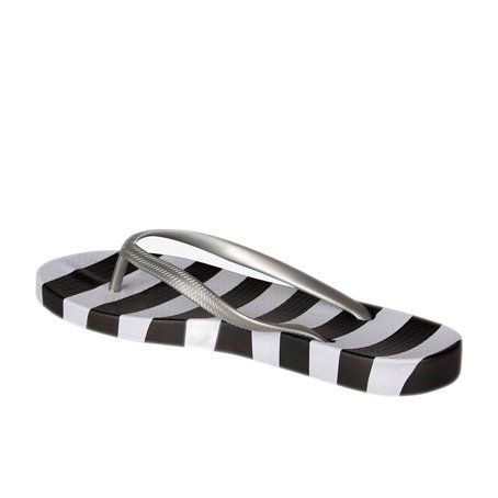 Zehentrenner COQUI KAJA Black/White dots and stripes